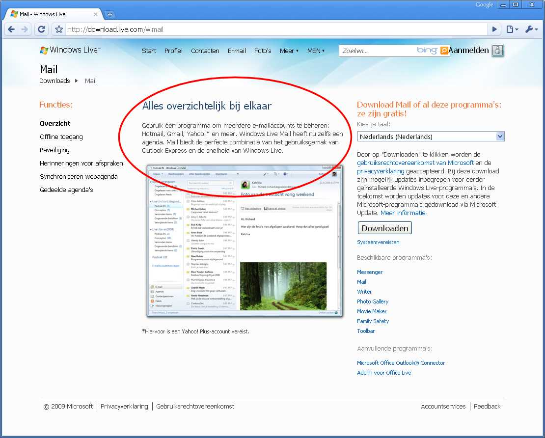 how to download outlook in windows 7